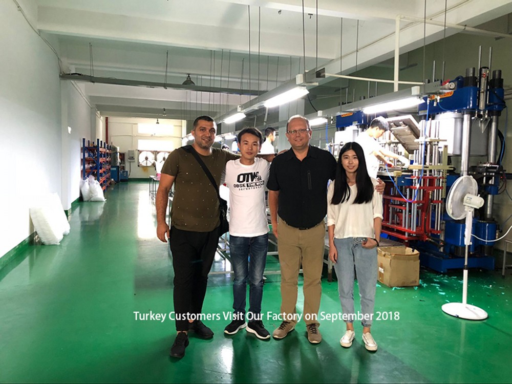 Turkish Customers Visit Our Factory on September 2018
