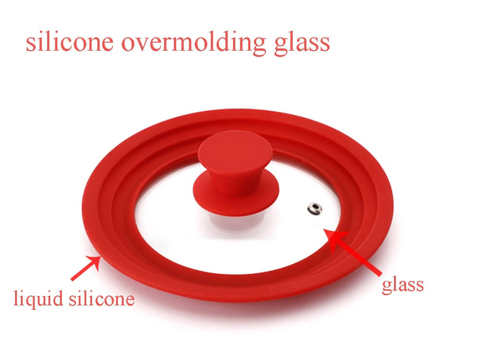 silicone overmolding glass