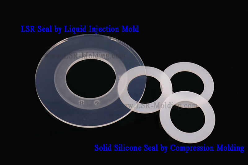 LSR Silicone Seal by Liquid INJECTION mOLD