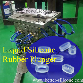 LSR Plunger Seal by Silicone Injection Molding